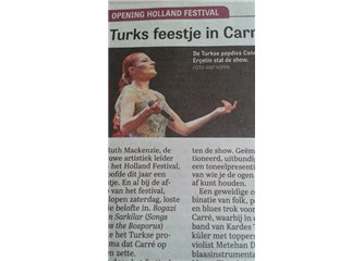 Amsterdam'da Türk Şenliği
