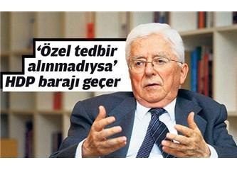 Tarhan Erdem, Genel Seçimler, seçim güvenliği ve HDP'ye sempati(!?)