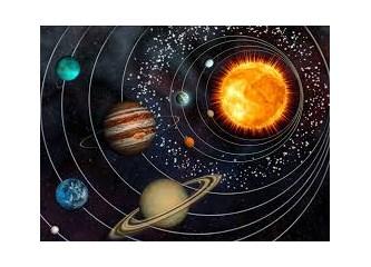 Kur'an diyor ki; Önce dünya sonra güneş yaratıldı.