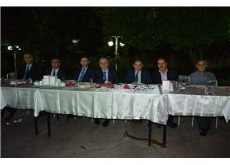 Mesob'dan İl Jandarma Komutanı Kurmay Albay Hasan Aksoy 'a veda yemeği