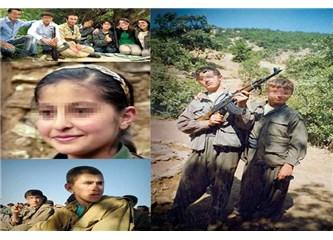 İşte PKK'nın çocuk askerleri!