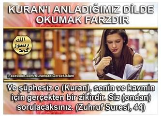 Kuran'ı anladığınız dilde okuyun…