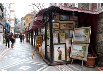 Kadıköy-Altıyol'daki Sanatçılar Sokağı