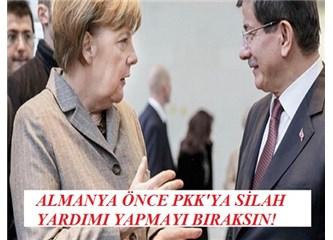 Angela Merkel'in terörü kınayıp PKK'yı terörist ilan etmesi müthiş samimiyetsizlik!