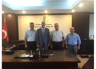 Samsun Büro Memur-Sen'den Defterdar Eraslan'a hoşgeldiniz ziyareti
