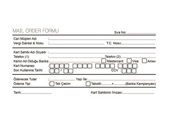 Mail Order İlkelliği