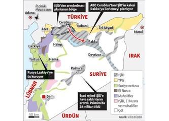 """ABD ve PYD, Cerablus bölgesi konusunda Türkiye'nin """"kırmızı çizgisini"""" sarartıyor mu?"""