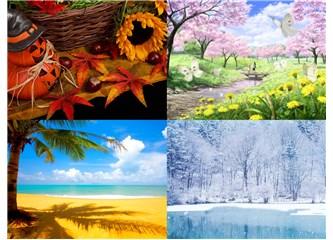 Mevsimler dile gelsin