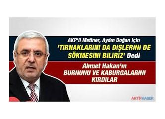 Tek Muhalif gazeteci Ahmet Hakan'mı? Dündarlar,Altan'lar, Özkök, Çölaşan, Özdil vb korunuyor mu?