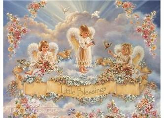 Gökten üç melek inmiş