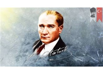 Mavi gözlerdeki Atatürk
