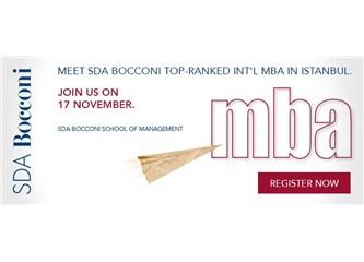 Duyuru: SDA Bocconi MBA  İstanbul Boston Consulting Group Ofisinde