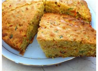 Vitamin deposu sebzeli kek