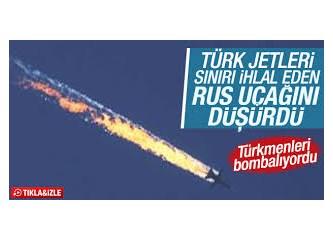 Orta Doğu'da batağa saplanmak, Türkiye Rus uçağını vurdu!