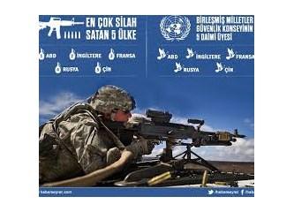 En çok silah satan ve alan ülkeler...