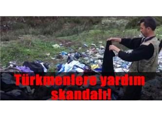 Türkmenler için toplanan yardım ne oldu?