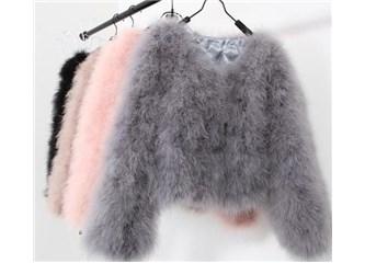 Kış Modası: Tüylü Kazak