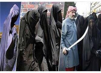 Yobazlar hangi akla hizmet, kadınları böyle aşağılamışlar!