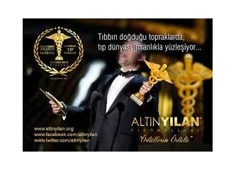 Dünyanın 999. Harikası Bergama'da Tıp Oscarı Altın Yılan Tıp ödülü