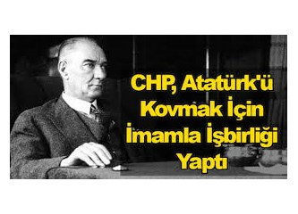"""CHP'de Atatürk'ün resmini indiren """"hain"""" aranıyor..."""