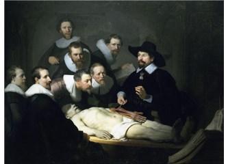 """Rembrant  """"Resimde ışığın matematiği"""""""