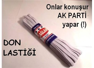 AK Parti ve don lastiği
