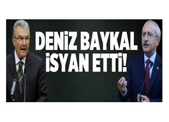 Ve Deniz Baykal mezhepçiliğe teslim olan CHP yönetimine karşı bayrak açtı!