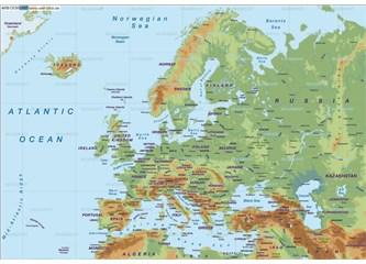 Avrupa'ya niye ayrı kıta demişler anlamadım; coğrafi olarak Asya'nın uzantısı gibi