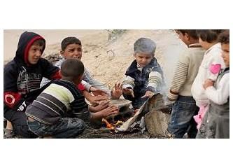 Suriye iç savaşının acı bilançosu. Savaştan etkilenen çocuk sayısı...