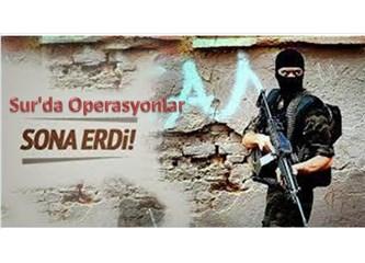 Beş ilçenin teröristlerden temizlenmesi, terörün bittiği anlamını taşımaz