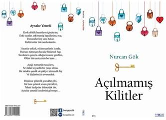 Açılmamış kilitler ve yazarı Şaire Nurcan Gök