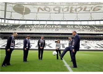 Vodafone Arena'nın garip açılışı