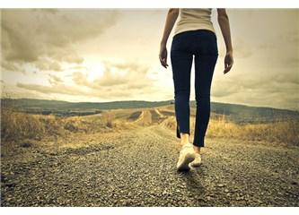 Yürümek bazen