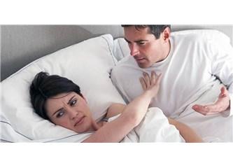 Evli olmakla sevişmenin ilgisi yok; eşim bile olsa ben istersem birlikte oluruz