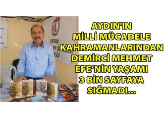 İbrahim Kiraz ve Demirci Mehmet Efe (1) romanını okurken