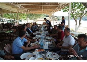 Didim yerel basını, Kaymakam İskender Yönden ile Kahvaltıda Didim'i konuştular...