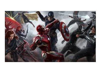 Süper kahramanlar birbirine girmiş
