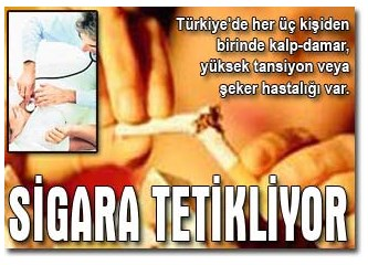 """""""Sigara hem öldürür hem süründürür"""""""