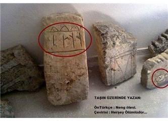 Bilinen en eski Mezar taşları ve Cemevi Onar Köyü'ndedir