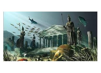 Batık kıta Atlantis nerede?