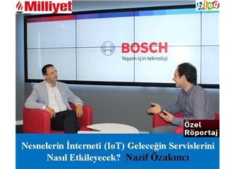 Nesnelerin İnterneti (IoT) Geleceğin Servislerini nasıl etkileyecek? Nazif Özakıncı ile Röportaj