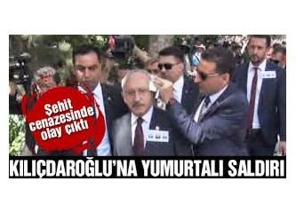 Şehit cenazelerinde Kemal Kılıçdaroğlu'nun protesto edilmesini doğru bulmuyorum!.