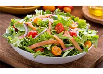 Kilo Vermenize Yardımcı 5 Salata Tarifi