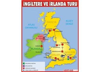 İngiltere, İrlanda, Kuzey İrlanda, İskoçya, İzlanda, Galler