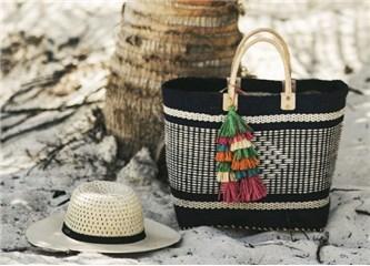 Plajlardan Sokaklara Uzanan Hasır Çanta Trendi