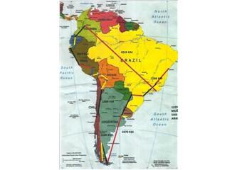Latin Amerika'yı 2 saatte gezdik