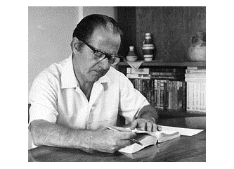 Sökeli yazar Samim Kocagöz mezarı  başında anıldı
