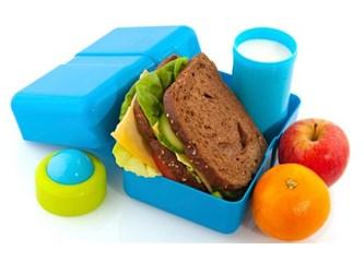 Çocukların beslenme çantalarına dikkat