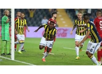 Fenerbahçe - Gaziantepspor - maçın hakkı Fenerbahçe'nin galibiyetiydi