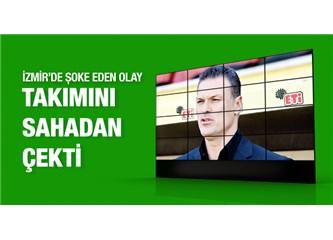 Yarım kalan Göztepe-Eskişehir maçı ve Alpay Özalan